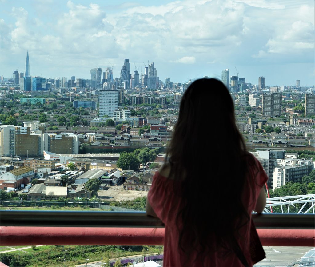 View from ArcelorMittal Orbit