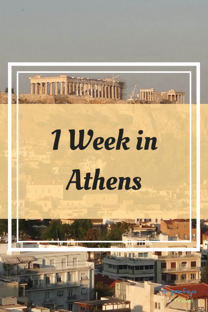 1 week in Athens Pinterest Graphic