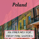 Pinterest Graphic for 1 week in Poland