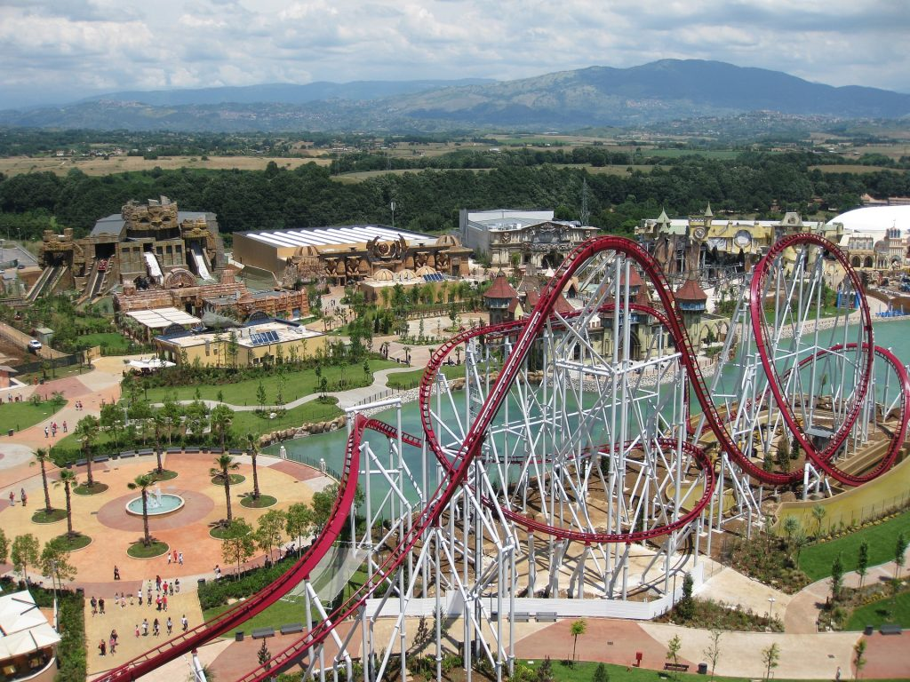 Rollercoaster at Rainbow Magicland