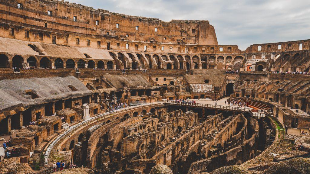 Inside of Colosseum