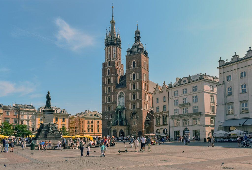 Town Square in Krakow