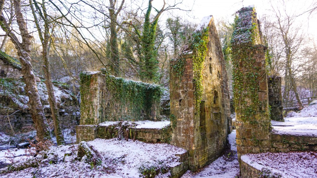 An old gunpowder mill