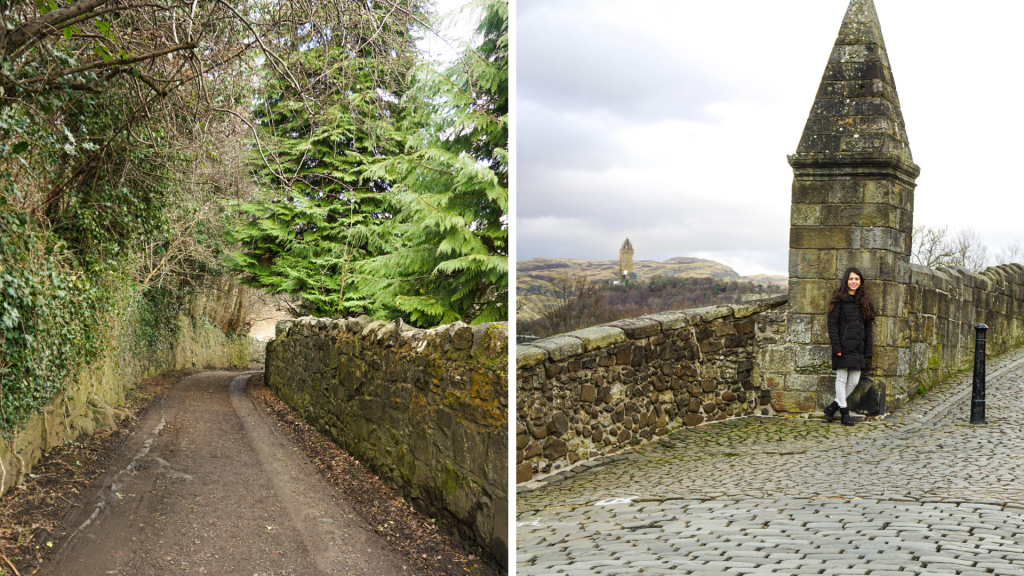 Walk in Stirling and Old Stirling Bridge