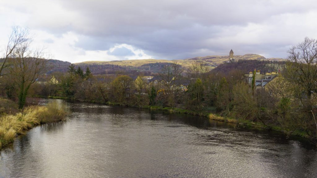 View from Stirling Old Bridge