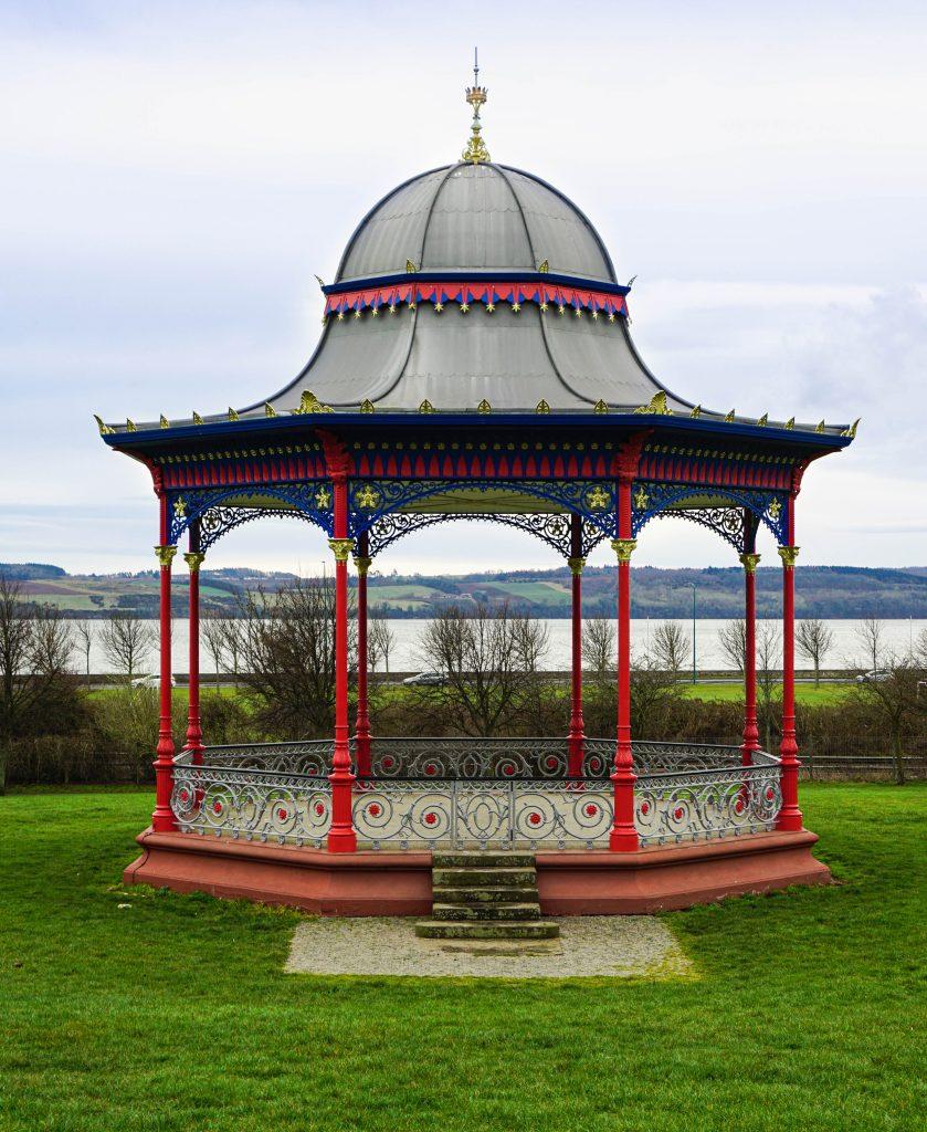Bandstand in Magdalen Park