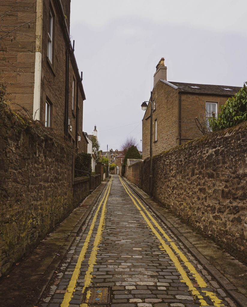A street in Dundee