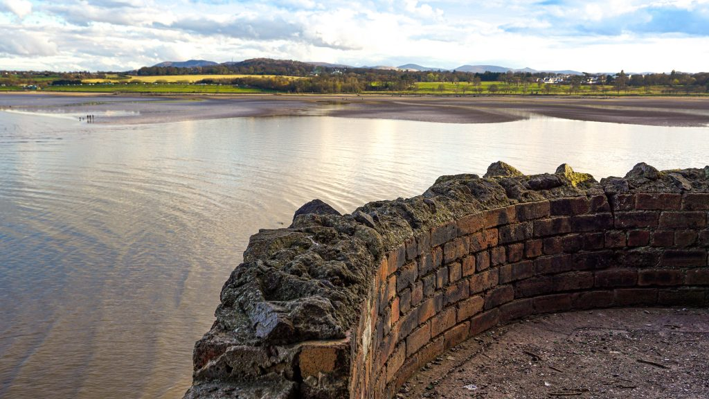 View from Cramond Island