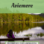 3 Days in Aviemore Pinterest Graphic