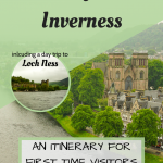 3 Days in Inverness Pinterest Graphic