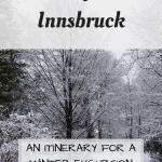 5 Days in Innsbruck Itinerary Pinterest Graphic