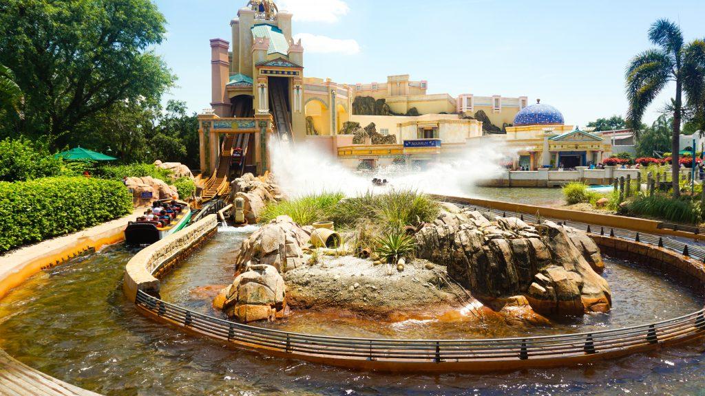 Journey to Atlantis Ride at SeaWorld Orlando