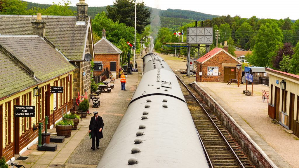 Strathspey Railway Boat of Garten Station