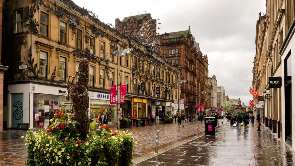 Day Trip to Glasgow City