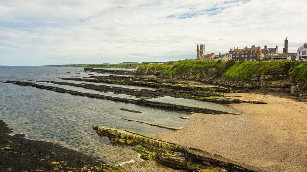 Castle Sands beach