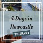 Newcastle Itinerary Pinterest Graphic
