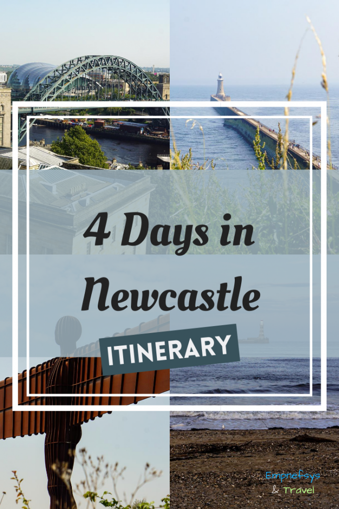 Newcastle Itinerary Pinterest Graphic