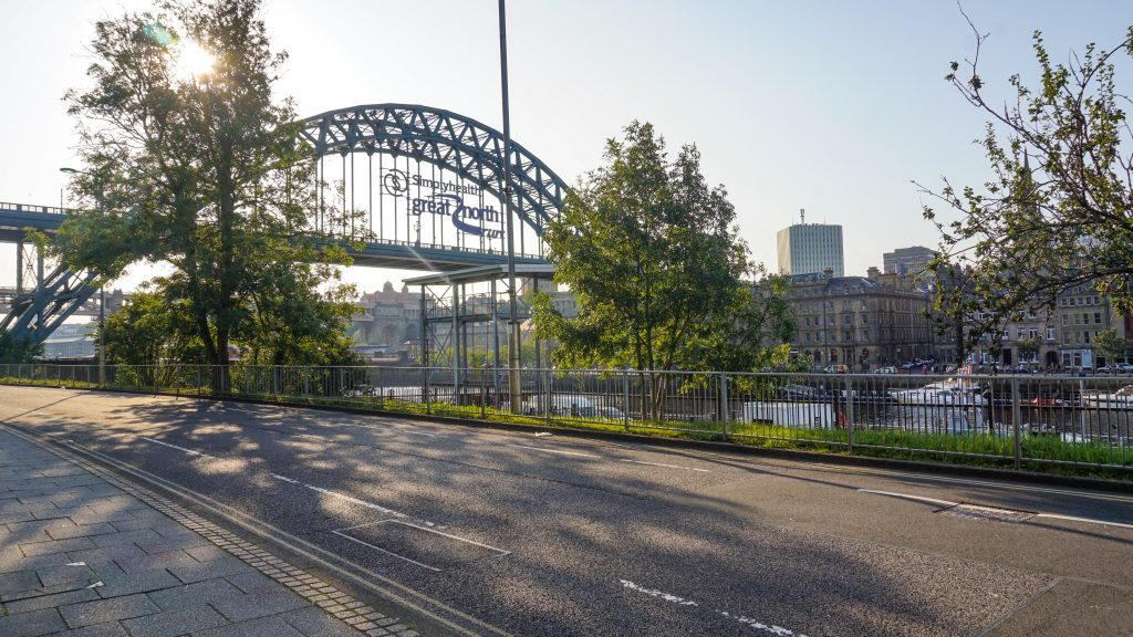 Tyne Bridge from Gateshead