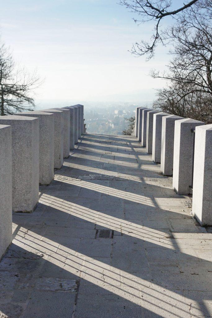 Plečnik's Šance at Castle Hill