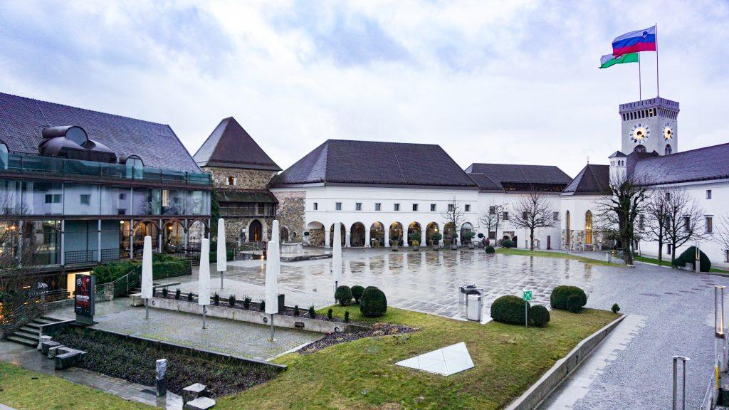 Courtyard of Ljubljana Castle