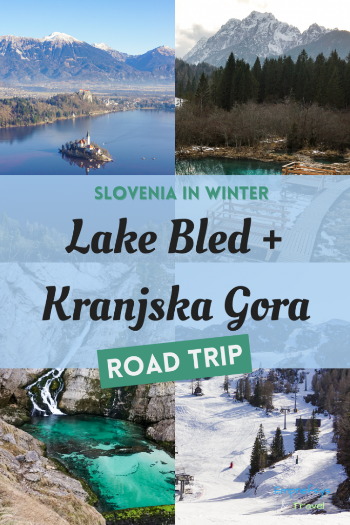 Pinterest Graphic for Slovenia Road Trip Itinerary for the Julian Alps