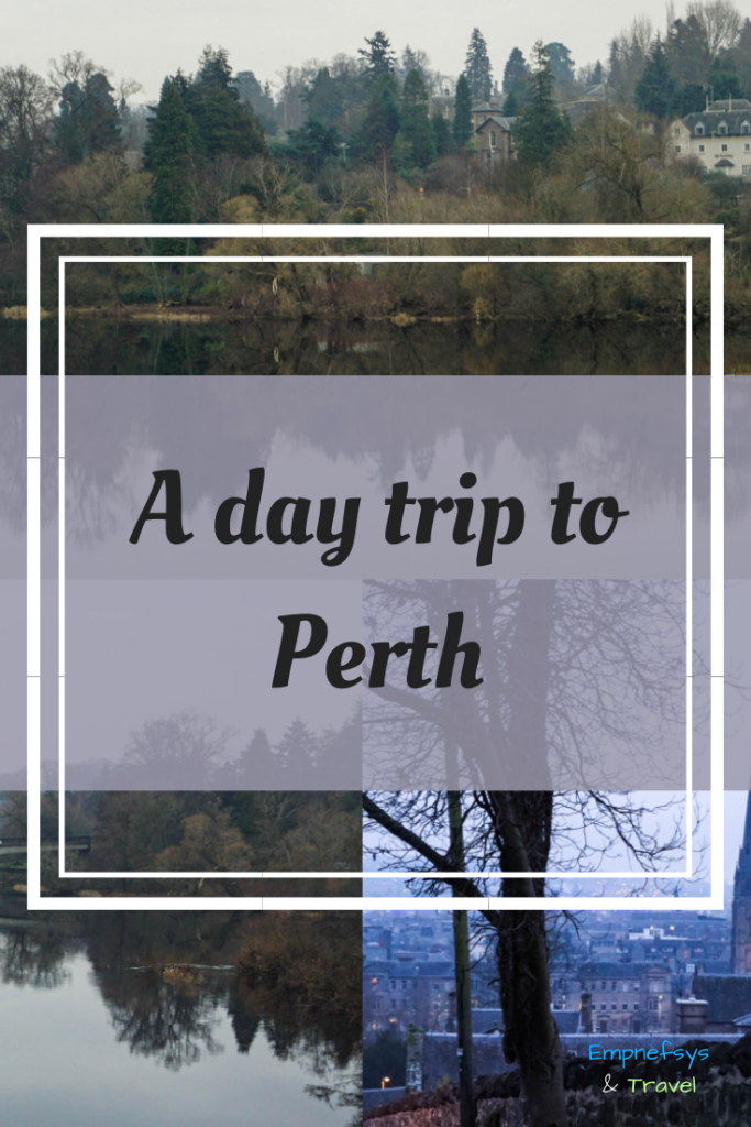 Pinterest Graphic for a day trip to Perth in Scotland