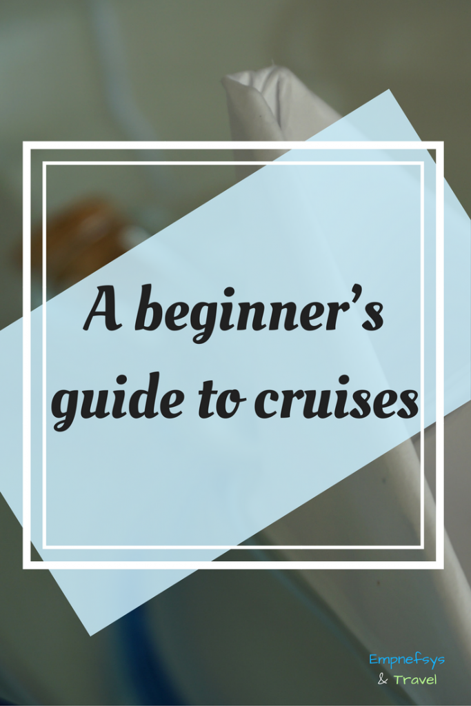 Pinterest Graphic for A Beginner's Guide to Cruises
