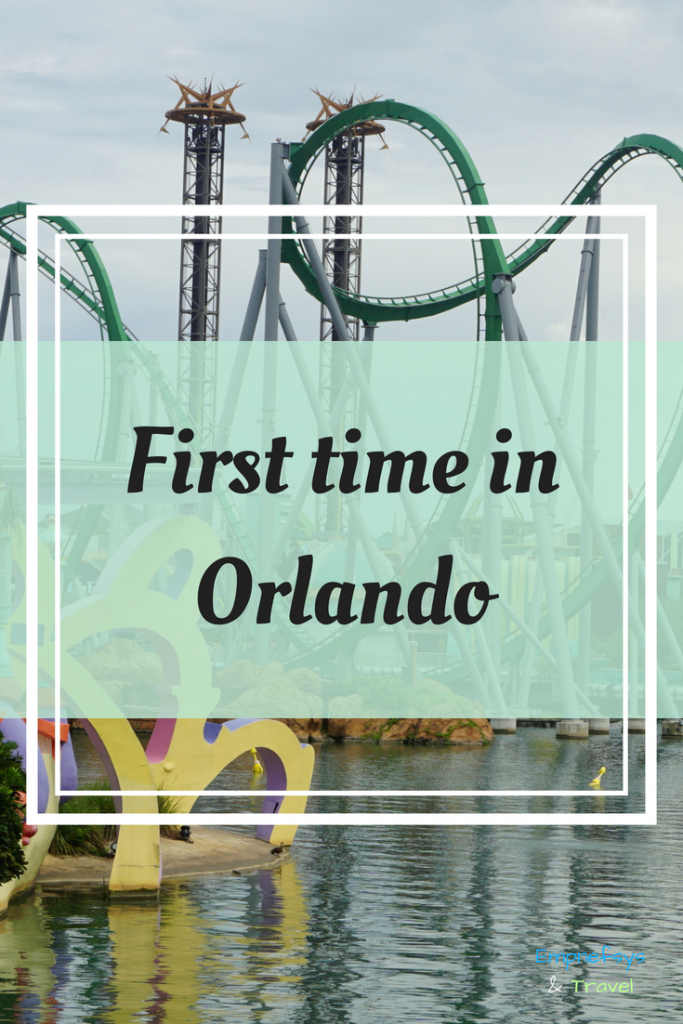 Pinterest Graphic for First Time in Orlando