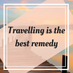 Pinterest Graphic for Travelling is the Best Remedy